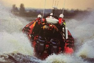 Lough Neagh Rescue in action