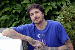 Gary Broughton, 47, from Bayford Road, Littlehampton. Picture: Kate Shemilt