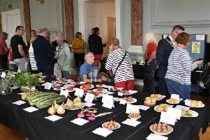 The Warwick Horticultural & Allotment Society Annual Show in 2018. Photo submitted.