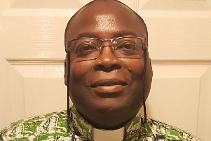 The Rev Dr Frank Okai-Sam is the new minister for Southwick Methodist Church