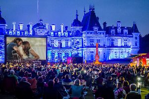 The Luna Cinema at Waddesdon Manor