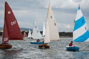 The Revival made for some spectacular sights on the water / Picture by Chris Hatton