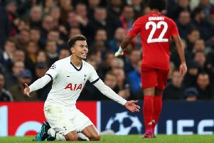 Tottenham Hotspur will have to pick themselves up after their 7-2 home loss to Bayern Munich