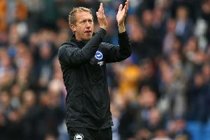 Graham Potter deserves great credit for his brave style of play and for promoting youth talent into the first team