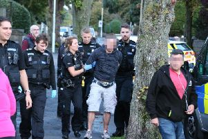 There was a 'huge police chase' in Worthing