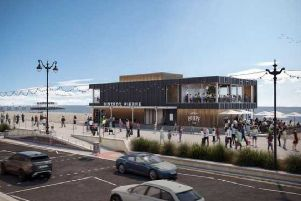 Plans for Bistrot Pierre on Worthing seafront