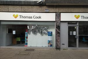 The former Thomas Cook branch in Worthing
