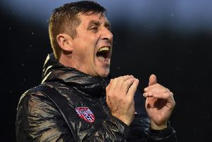 Declan Devine has hit back at suggestions from Stephen O'Donnell that Finn Harps will field a weakened team for the final fixture of the season at Brandywell