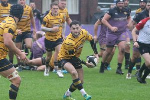 Henry Anscombe. Clifton v Worthing Raiders. Picture by Colin Coulson