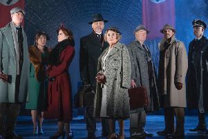 The Cast of The Lady Vanishes - UK Tour - Photographs by Paul Coltas