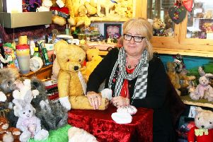Jackie Smith and her Smiffy Bears will be returning to Shoreham Academy for its second Christmas craft marketl. Photo by Derek Martin DM18103019a