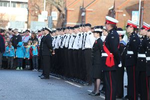 Remembrance Sunday in Worthing