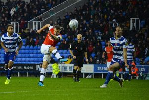 James Collins saw this ambitious attempt fly well wide on Saturday