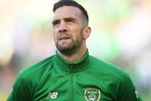 Brighton and Hove Albion defender Shane Duffy will face Denmark on Monday