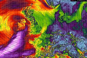 Storm Sebastien has arrived in the Republic of Ireland.