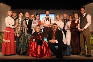 Southwick Players' cast for The Matchmaker at The Barn Theatre. Picture: Miles Davies