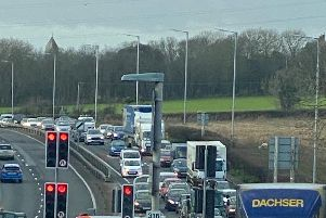 Traffic on the A27