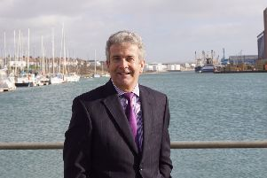 Rodney Lunn was chief executive at the port for ten years