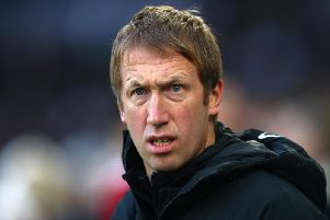 Brighton and Hove Albion head coach Graham Potter is determined to deliver a performance at Bournemouth tonight