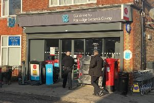 The police incident in Partridge Green