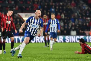 Brighton are keen to sign midfielder Aaron Mooy on a permanent basis