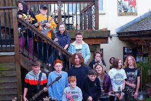 Members of the Shoreham Allstars collective. Photo by Dean Wilson