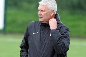 Steyning boss Gerry Murphy admitted that his side 'didn't take their chances' in their defeat to Pagham. Picture by Derek Martin