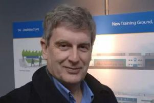 Martin Perry, chief executive of Brighton and Hove Albion