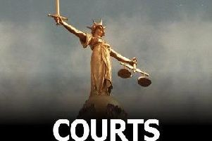 Courts. Stock image