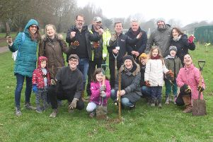 Tree planting in Southwick