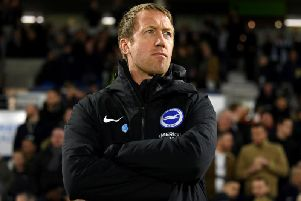 Graham Potter saw his Brighton side battle back to claim a vital point against Watford
