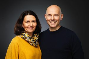 Kathy Bourne (Executive Director) and Daniel Evans (Artistic Director) - Photo Seamus Ryan