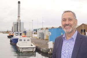 Director of compliance at Shoreham Port, Paul Johnson, has died after a long battle with cancer.