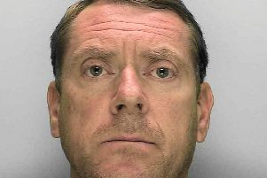 Former West Sussex man Jonathan Solloway has been jailed. Picture: Sussex Police