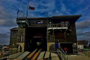 The Shoreham RNLI lifeboat station. Photo: Shoreham RNLI/Twitter