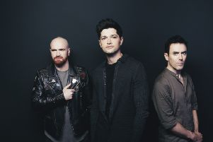 The Script performed at the Brighton Centre last night. Photo by Andrew Whitton.