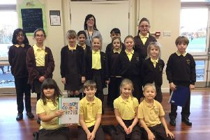 New school council members at the Richmond School in Skegness. ANL-190115-082446001