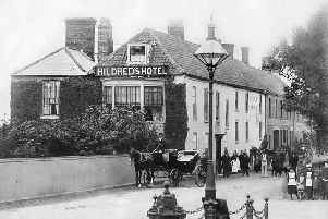 The former Hildreds Hotel, which was demolished to make way for the Hildreds Centre in Skegness. ANL-191101-152810001
