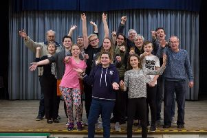 SLAPS pictured at a rehearsal for their February pantomime, Cinderella. EMN-190121-163151001