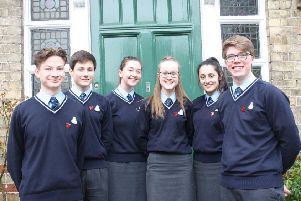 Students at Queen Elizabeth's Grammar, Alford, have had plenty to smile about this week following the release of the new government league tables.