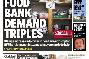 The Chronicle & Echo featured the story of Emmanuel Food Bank on it's front page this week.