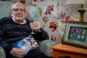 Frank Ward has turned 100. He has lived in Long Itchington and Southam all his life. NNL-190313-094542009