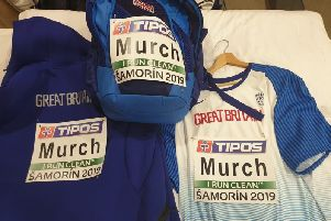 Craig's GB kit for the event in Samorin on March 9-10