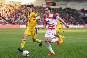 Doncaster Rovers striker John Marquis