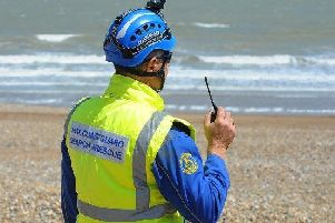 HM Coastguard Skegness responded to the incident at Ingoldmells on Saturday.