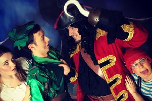 Peter Pan-tomime is coming to Neverland Theatre.