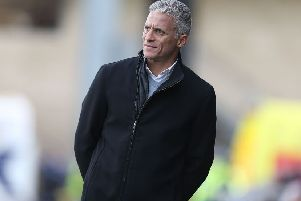Cobblers boss Keith Curle