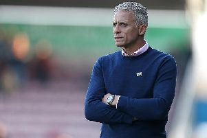Keith Curle is set to oversee a major overhaul this summer. Picture: Pete Norton