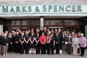 Marks & Spencer, in Skegness, 10 years ago.