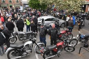 Crowds gathered for Spilsby Bike Night last year. EMN-190905-165055001
